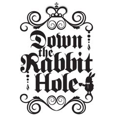 down the rabbit hole logo