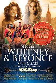 Harlem Gospel Choir Sings Whitney & Beyonce (4.24.17)