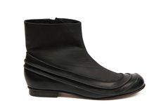 by shoe designer Elina Dobele. Riga, Latvia.