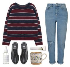 """""""emily"""" by soym ❤ liked on Polyvore featuring Dr. Martens, Miss Selfridge, Origins and French Girl"""