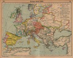 Europe when Elizabeth became Queen