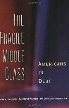 'The Fragile Middle Class: Americans in Debt.' Teresa A. Sullivan, Elizabeth Warren, Jay Westbrook.