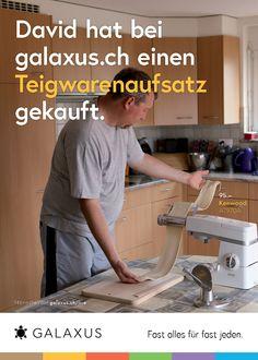 David hat bei galaxus.ch einen Teigwarenaufsatz gekauft. #GalaxusLive #Galaxus