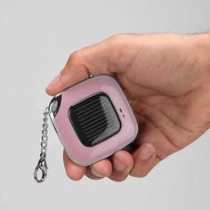 The Solar Power Bank Keychain for iPhone |Gadgetsin