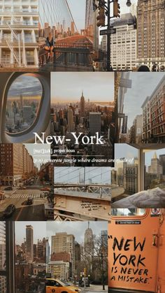 Iphone Wallpaper Tumblr Aesthetic, Aesthetic Pastel Wallpaper, Aesthetic Backgrounds, Aesthetic Wallpapers, New York Wallpaper, City Wallpaper, Iphone Background Wallpaper, Images Esthétiques, New York Life
