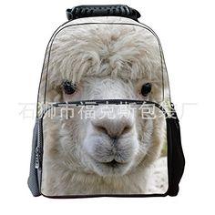 Print Animal School Bookbag Backpack for kids 22e48ef6ca6a4