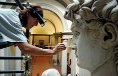 Conservation of Michelangelo's David