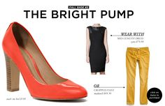 5 Footwear Styles to Get You Through Fall and Winter: The Bright Pump