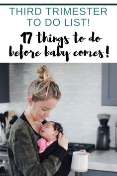 This third trimester to do list (for pregnant mom, baby AND the whole family) will take the guess work out of everything you need to get done before baby arrives! A must read for a mom to be to prepare for baby. Baby Chloe, Baby Family, First Baby, Mom And Baby, Baby Boy, Pregnancy Classes, Pregnancy Goals, Pregnancy Stages, Pregnant Couple