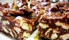 Sjokolade en marie beskuitjie- fudge