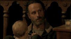 #TheWalkingDeadSeason5Trailer Rick With Judith