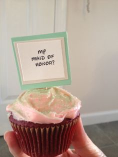 Will you be my maid of honor?, Disney, bridesmaid, cupcakes, brunch, wedding