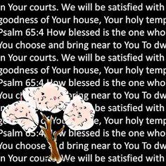 Psalm 65:4