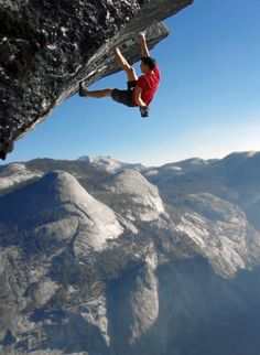 Alex Honnold free-soloing Yosemite