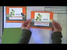 ▶ Rubber Redneck Stampin' Up! Kinda Electric Halloween Card - YouTube