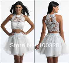 Find More Vestidos de Baile de Estudantes Information about feitos de uma  linha acima do joelho mini sexy sem mangas colher com apliques prom vestido curto 2014 novo design,High Quality Vestidos de Baile de Estudantes from Rose Wedding Dress Co., Ltd on Aliexpress.com