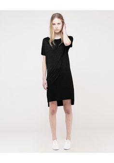 LA GARCONNE / T by Alexander Wang / Boatneck Jersey Dress