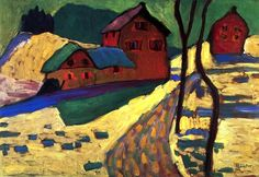 bofransson:  Winter Landscape Gabrielle Münter - 1909