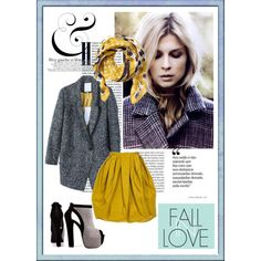 """""""Fall in live with city tweed."""" by fashionwhynot on Polyvore"""