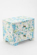 Plum & Bow Floral Paper Jewelry Box....pretty