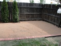 Image of: How To Build A Pea Gravel Patio