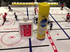 86fa69dc111 How to clean your bubble hockey machine. Game Room, Cleaning Supplies, Nhl,