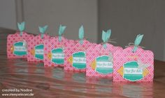 Goodie Stampin Up Verpackung Give Away Gift Idea