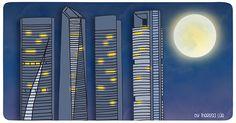 Madrid, Skyscraper, Desktop Screenshot, Weather, Building, Life, Gourmet, Terrace, Cities