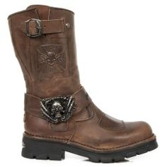 Botte en cuir M.MC1902-S2 New Rock