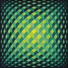 Progression Quadra - Circulaire V by Yvaral