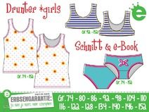 Drunter *girls • Gr. 74-152 • e-Book & Schnitt