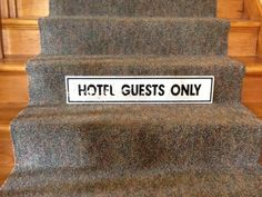 Hotel Guests Only is a Moment in Time