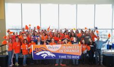 At DaVita HQ in Denver, we're Broncos fans forever!  Better luck next year...