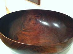 Koa wood bowl.