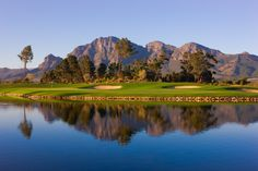 Boschenmeer Golf & Country Estate, Paarl I miss those mountains! Golf Holidays, Safari Holidays, South Africa Safari, Golf Estate, Best Golf Courses, Country Estate, African Safari, Places To Go, Around The Worlds