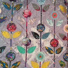 Quilt Con 2017 - Anna Maria Horner - Folk Flower Quilt