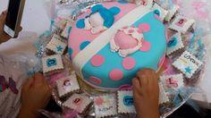Ikizler 1 yasinda :) For twins birthday cake