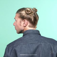 How to: Double the Classic Man Bun