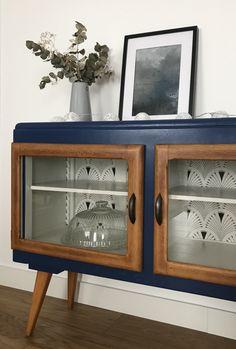 Meuble TV vintage Joseph 3 - Ideas for a future Home Vintage TV cabinet Joseph 3 Farmhouse Furniture, Repurposed Furniture, Home Decor Furniture, Furniture Makeover, Vintage Furniture, Painted Furniture, Home Furnishings, Diy Home Decor, Furniture Design