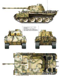 Panther Ausf. D, 51st Panzer Battalion, Kursk, 1943