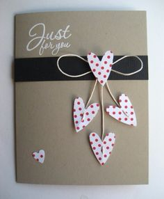 50 Thoughtful Handmade Valentines Cards – The Unique Valentine's Day Gifts Homemade Valentine Cards, Valentines Day Cards Diy, Homemade Cards, Diy Gifts For Him, Diy Valentine's Day Cards For Him, Valentine's Day Diy, Cute Cards, Anniversary Cards, Birthday Cards