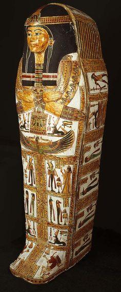 Coffin set of Henettawy, Third Intermediate Period, Dynasty 21, reign of Psusennes I, ca. 1040–992 b.c. Egyptian; From Deir el-Bahri, western Thebes