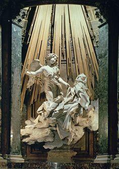 The ecstasy of St Teresa of Avila by Bernini. In the Santa Maria della Vittoria (near the Bone Crypt and Harry's Bar)