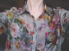 sheer floral via amateur couture (Source: ruoloc, via loverunway)