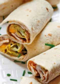Not sure I'd like it cold tho - will have to try it! Adult Lunch Box, Easy Lunch Boxes, Lunch Ideas, Quesadillas, Tortillas, Mission Wraps, Chicken Ham, Lunch Recipes, Healthy Choices