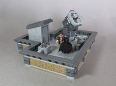 Lego Minifigure Display, Lego Batman Movie, Lego Room, Lego Dc, Cool Lego, Bat Signal, Lego Sets, Geek Stuff, Star Wars