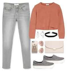 """Autumn stile🍁"" by anzheli55ka on Polyvore featuring Opening Ceremony, MANGO, Brunello Cucinelli, Mansur Gavriel, Miss Selfridge, Casetify and Ray-Ban"