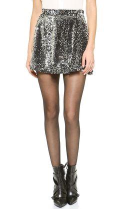 J.O.A. Sequins Skirt