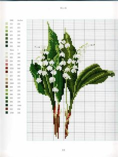 """ru / mtecuka - Альбом """"Thea Gouverneur Flower portraits in Cross Stitch"""" Tiny Cross Stitch, Cross Stitch Cards, Cross Stitch Borders, Cross Stitch Flowers, Cross Stitch Designs, Cross Stitching, Cross Stitch Embroidery, Cross Stitch Patterns, Hand Embroidery Projects"""
