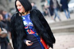 Street Style: Milan's Rich Textures and Patterns - The Cut
